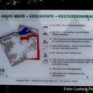 Info-Tafel zu Haus Meer