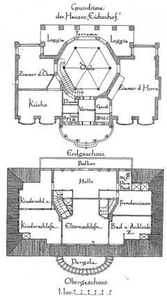 Haus Eichenhof - Grundrisse (Archivfoto)
