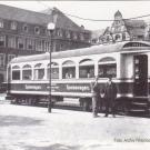Speisewagen der K-Bahn 1929