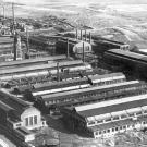 Luftaufnahme auf die weiträumigen Produktionsanlagen der Böhler-Werke