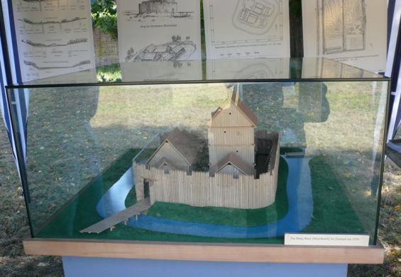 Das Modell der Motte Meer