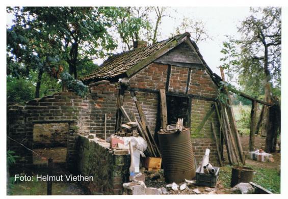 Ehemaliges Backhaus Nibbelsweg 34 (Zustand 1987)