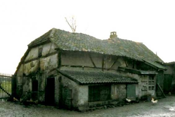 Ehemaliges Backhaus Nibbelsweg 20 (Foto von 1989)