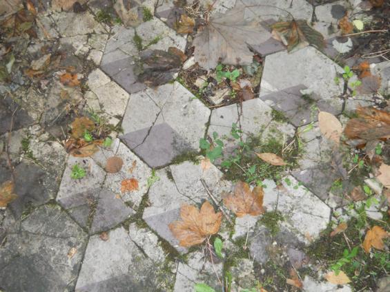 Fußboden Terrasse ~ Fußboden der alten schloss terrasse