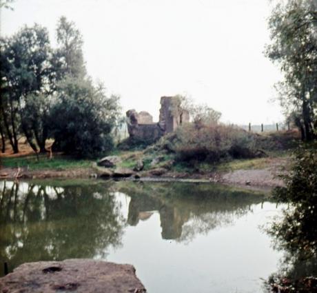 Foto der Ruine aus dem Jahr 1972