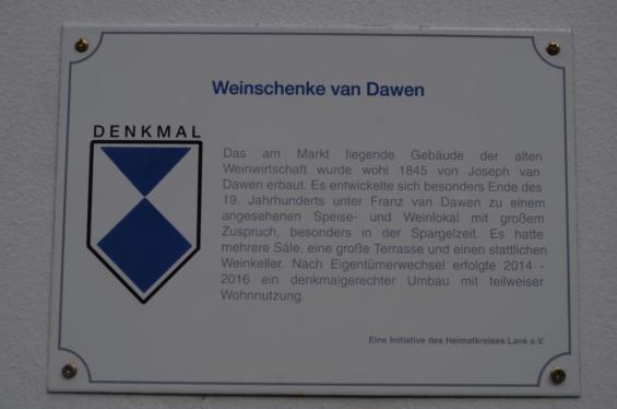 Weinschenke van Dawen, Hauptstraße 19
