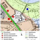 """09 Ausgangssituation für einen """"Archäologischen Park"""" (?) (PPP-Folie von Martin Vollmer-König (LVR)"""