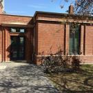 Eingang und Werkstatt