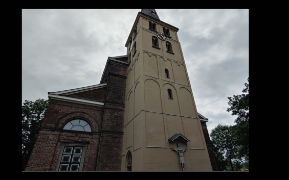 Kirchturm St. Stephanus (Screenshot aus dem Video)