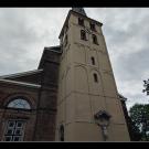 Kirchturm von St. Stephanus in Lank-Latum